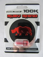 Ruby Rhino Special Edition 100K Male Enhancement