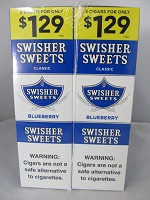 Swisher Sweet Cigarillos 2/$1.29 ~ 30ct Pouch (Blueberry)