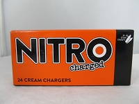 Nitrocharged Whip Cream Charger 600ct Master Case