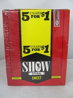 Show Cigarillos 5 Cigars For $1 ~ 15ct Pouch (Sweet)