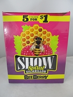 Show Cigarillos 5 Cigars For $1 ~ 15ct Pouch (Bee Berry)