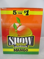Show Cigarillos 5 Cigars For $1 ~ 15ct Pouch (Mango)