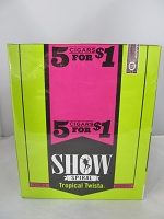 Show Cigarillos 5 Cigars For $1 ~ 15ct Pouch (Tropical Twista)