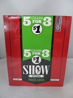 Show Cigarillos 5 Cigars For $1 ~ 15ct Pouch (Poco Loco)