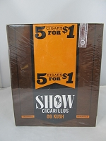 Show Cigarillos 5 Cigars For $1 ~ 15ct Pouch (OG Kush)