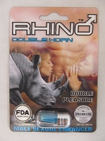 Rhino Double Horn FDA Registered