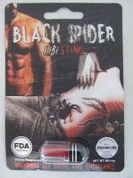 Black Spider Libi Sting - 24ct Display FDA Registered