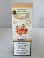POD Juice 55mg Salt Nic 30ml (Peach Burst)