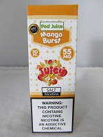 POD Juice 55mg Salt Nic 30ml (Mango Burst)