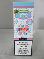 POD Juice 55mg Salt Nic 30ml (Cotton Burst)