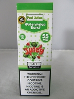 POD Juice 55mg Salt Nic 30ml (Watermelon Burst)