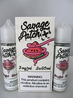 Savage Patch E-Liquid by Pod Juice 3mg 120ml (2X60ml) Watermelon Patch