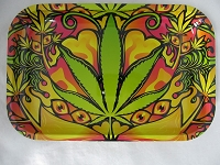 Multi Design Rolling Tray 7.5 Inch X 11 Inch (New Designs)