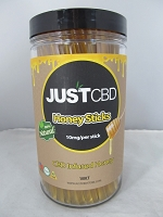 Just CBD Honey Sticks 10mg Per Stick 100ct Jar
