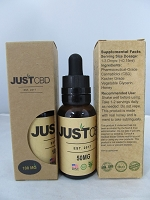 Just CBD Flavored Tincture 30ml 50mg