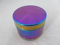 Chromium Crusher 53mm Rainbow 4 Part Grinder