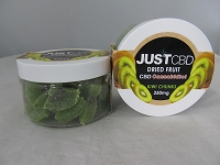 Just CBD Dried Fruit 250mg Kiwi Chunks