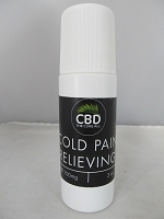 CBD The Cure All Roll On Pain Relief 100mg 3oz