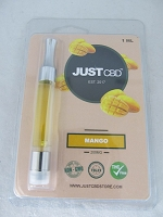 Just CBD Prefilled Vap Cartridge 200mg 1ml Mango