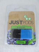 Just CBD Prefilled POD 100mg Blueberry