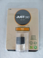 Just CBD Organic Terpenes 1ml GSC Girl's Scout Cookies Hybrid
