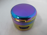 Sharpstone 63mm Rainbow Colors Window 4 part Grinder