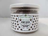 CBD Infused Edibles 5-6oz 250mg CBD (Dark Chocolate Hemp Seeds)