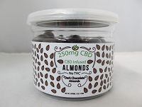 CBD Infused Edibles 5-6oz 250mg CBD (Dark Chocolate Almonds)