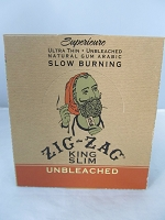 Zig Zag Ultra Thin King Size Slim Rolling Papers 24pack