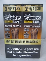 Sweet Woods by Good Times 2/$1.29 ~ 30ct Pouch (Sweet Aroma)