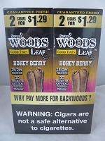 Sweet Woods by Good Times 2/$1.29 ~ 30ct Pouch (Honey Berry)