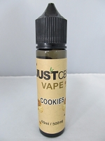 Just CBD Vape E-Juice 500mg 60ml Cookies