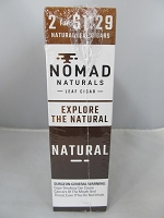 Nomad Natural Leaf Cigar 2 for $1.29 15ct (Natural)