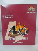 4K's Cigarillos 4pk 60ct Pouch (Pomegranate)