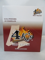4K's Cigarillos 4pk 60ct Pouch (Red Velvet)