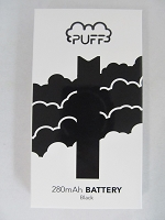 Puff 280mAh Battery for Salt Nic Pods (Black)
