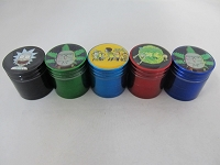 32mm Cartoon Character Multi Color 4 Part Grinder