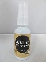 Just CBD Pet Spray 100mg 30ml