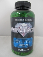 White Diamond Kratom White Thai 500ct Jar