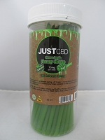 Just CBD Green Apple Honey Sticks 10mg Per Stick 60ct Jar