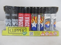 Clipper Refillable Lighter Arizona 48ct Display