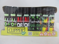 Clipper Refillable Lighter California 2 48ct Display