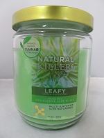 Natural Killers Deodorizer Candle 13oz (Leafy)