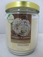 Natural Killers Deodorizer Candle 13oz (Cookies