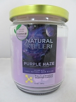 Natural Killers Deodorizer Candle 13oz (Purple Haze)