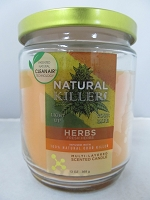 Natural Killers Deodorizer Candle 13oz (Herbs)