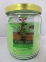 Natural Killers Deodorizer Candle 13oz (Fresh 420)