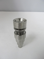 Honey Comb 6in1 Domeless Titanium Nail 10/14/19 Female/Male