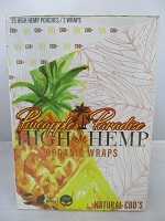 High Hemp Organic CBD Blunt Wraps 25ct (Pineapple Paradise)
