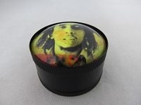 Fish Eye Bob Marley 3 Part Metal Grinder 1ct